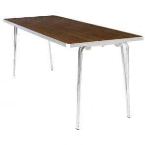 Gopak Contour Folding Table Teak 4ft