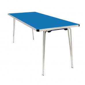 Gopak Contour Folding Table Blue 6ft