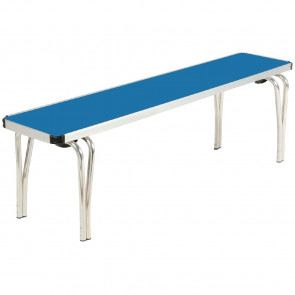 Gopak Contour Stacking Bench Blue 4ft