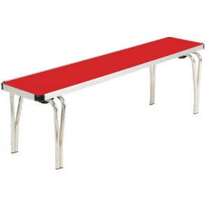 Gopak Contour Stacking Bench Red 4ft