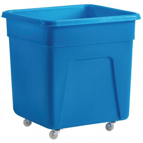 Blue Polyethylene Trolley Large