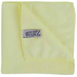 Jantex Mircofibre Cloths Yellow