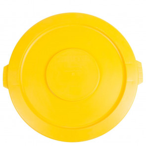 Rubbermaid Brute Snap On Lid Yellow