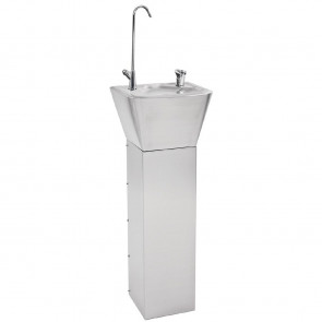 Franke Sissons Stainless Steel Pedestal Drinking Fountain