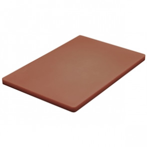 Hygiplas Thick Low Density Brown Chopping Board