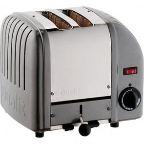 Dualit 2 Slice Vario Toaster Metallic Charcoal