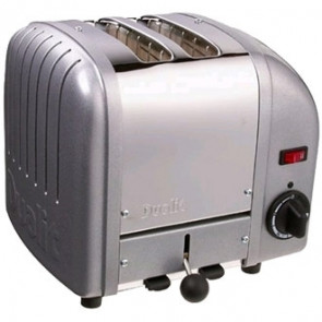 Dualit 2 Slice Vario Toaster Metallic Silver