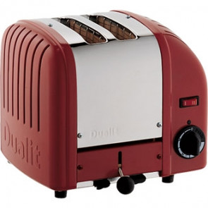 Dualit 2 Slice Vario Toaster Red