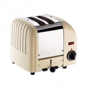 Dualit 2 Slice Vario Toaster Utility Cream