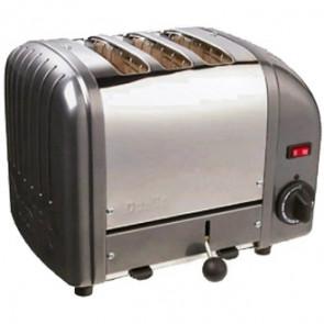 Dualit 3 Slice Vario Toaster Black