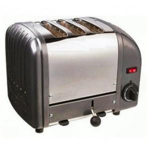 Dualit 3 Slice Vario Toaster Metallic Charcoal