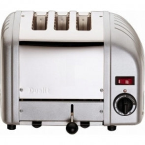 Dualit 3 Slice Vario Toaster Metallic Silver