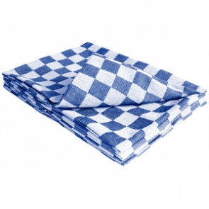 Chef Tea Towel Blue
