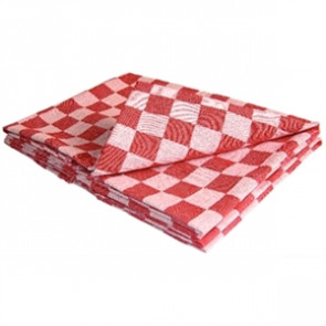 Chef Tea Towel Red.