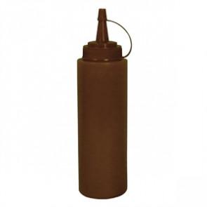 Vogue Brown Squeeze Sauce Bottle 8oz