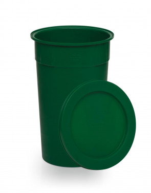 Green Drop-on Lid for E573