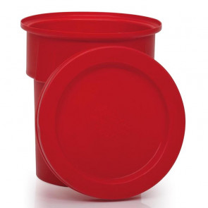 Red Drop-on Lid for R1170