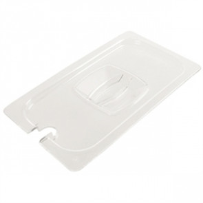 Rubbermaid Polycarbonate 1/4 Gastronorm Notched Lid