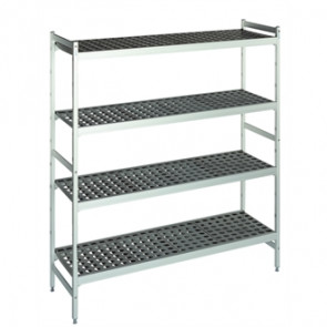 Fermod Shelving Set With 2 Ends And 4 Shelves 1500x 460x 1685mm