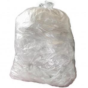 Jantex Medium Duty Clear Bin Bags 80Ltr