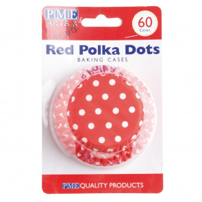 PME Cupcake Baking Cases Polka Dot