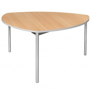 Gopak Enviro Indoor Beech Effect Shield Dining Table 1500mm