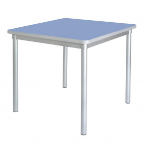 Gopak Enviro Indoor Campanula Blue Square Dining Table 750mm