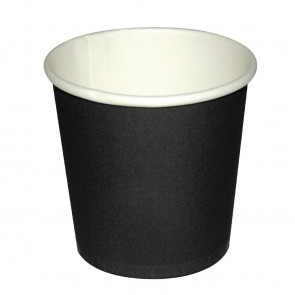 Fiesta Disposable Black Espresso Cups 112ml x50