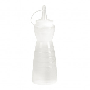 Vogue Clear Lidded Sauce Bottle