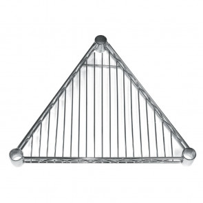 Triangular Shelf for Vogue Wire Shelving 457mm