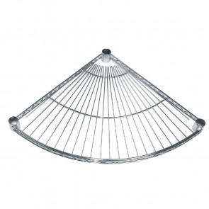 Fan Shelf for Vogue Wire Shelving 610mm