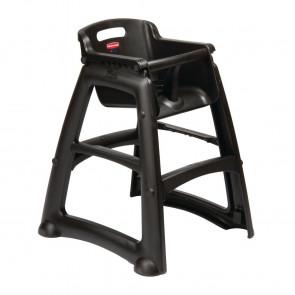 Rubbermaid Sturdy Black High Chair