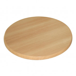 Bolero Round Table Top Beech 600mm
