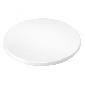Bolero Round Table Top White 600mm