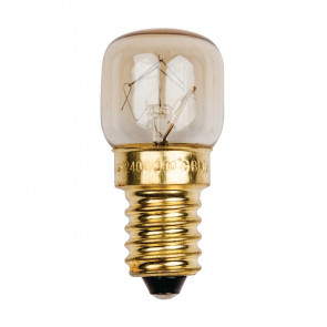 Status Traditional Oven Bulbs 15W SMALL Edison Screw