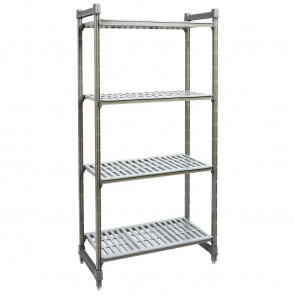 Cambro Camshelving Basics Vented 4 Shelf Unit 910mm