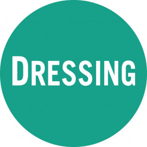 FIFO Sauce Bottle Caesar Dressing Labels