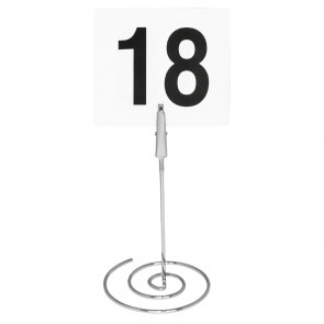 Spiral Table Number Stand