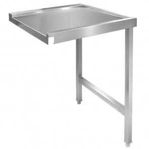 Vogue Pass Through Dishwash Table Right 600mm