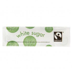 Vegware Fairtade White Sugar Sticks