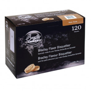 Bradley Maple Bisquettes 120 pack