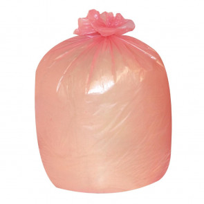 Jantex Garbage Bags Red Pack of 200