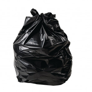 Jantex Heavy Duty Garbage Bags Black Pack of 200