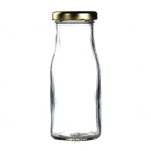 Gold Cap for Mini Milk Bottles