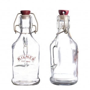 Kilner Clip Top Bottle with Handle 0.2Ltr