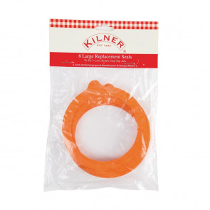 Kilner Spare Rubber  Seals for Clip Top Jars 3Ltr