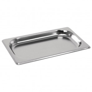 Vogue Stainless Steel GN 1/4 Pan 20mm