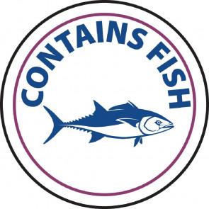 Vogue Food Allergen Label Fish