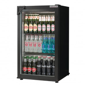 Autonumis Popular 1 Door Back Bar Cooler Black A209117