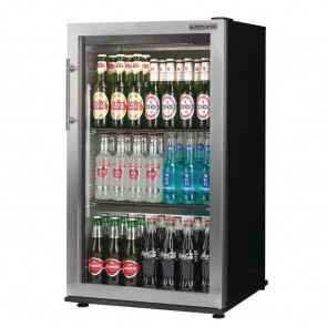 Autonumis Popular 1 Door Back Bar Cooler St/St Door A20916